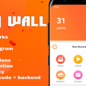 Cash Wall – Android Rewards App Source Code