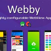 Webby – Highly Customizable WebView Android App